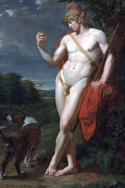 """""""Le Berger Pâris"""" by Jean-Germain Drouais, 1787"""