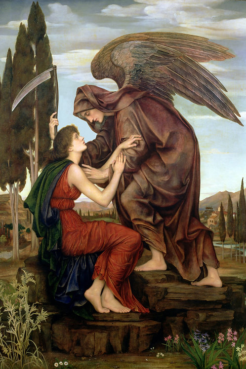 """The Angel of Death"" by Evelyn De Morgan, 1880"