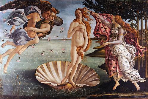 """The Birth of Venus"" by Sandro Botticelli, 1486"