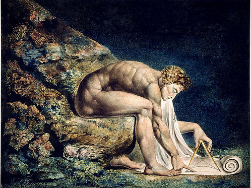 """Newton"" by William Blake, c.1800"