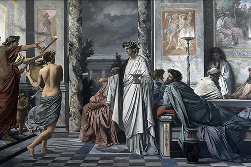 """Plato's Symposium"" by Anselm Feuerbach, 1869"