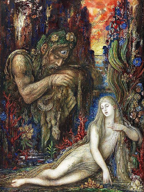 """Galatea"" by Gustave Moreau, 1896"