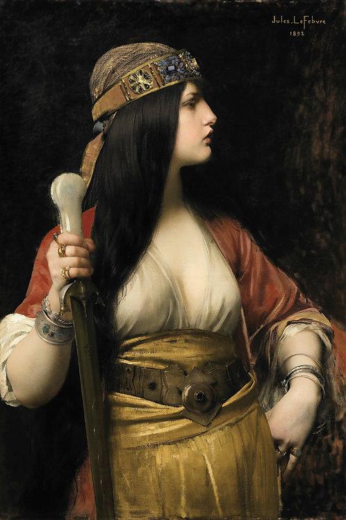 """Judith"" by Jules Joseph Lefebvre, 1892"