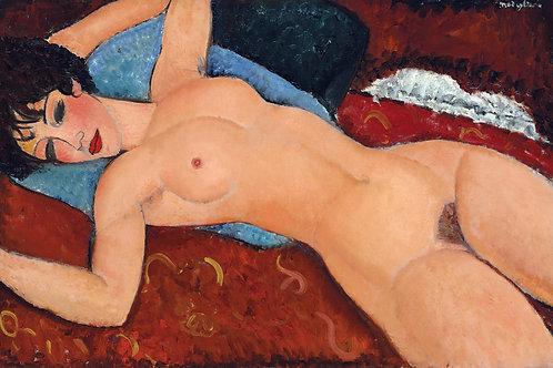 """Nudo Rosso"" by Amedeo Modigliani, 1917"