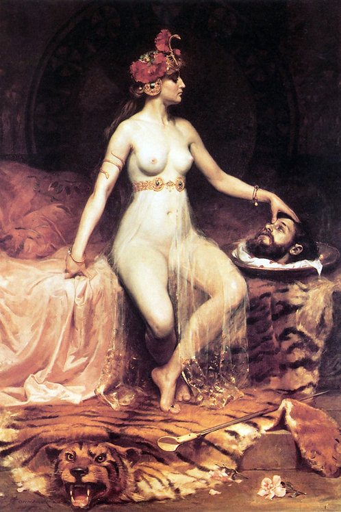 """Salome"" by Pierre Bonnaud, 1900"