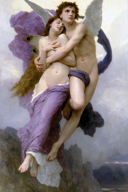 """""""The Abduction of Psyche"""" by William-Adolphe Bouguereau, 1895 2"""
