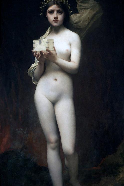 """Pandora"" by Jules Joseph Lefebvre, 1872"