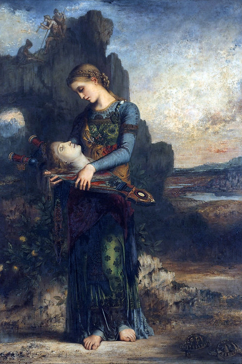 """""""Orpheus"""" by Gustave Moreau, 1865"""