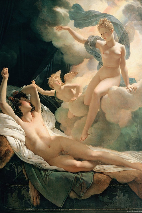 """""""Morpheus and Iris"""" by Guerin Pierre Narcisse, 1811"""