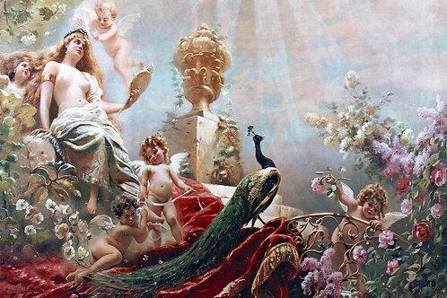 """The Toilet of Venus"" by Konstantin Makovsky, 1890"