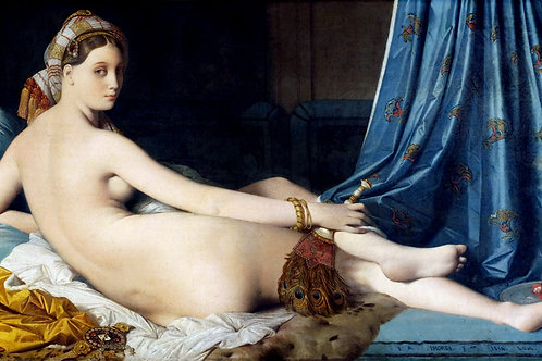 """Grande Odalisque"" by Jean Auguste Dominique Ingres, 1814"