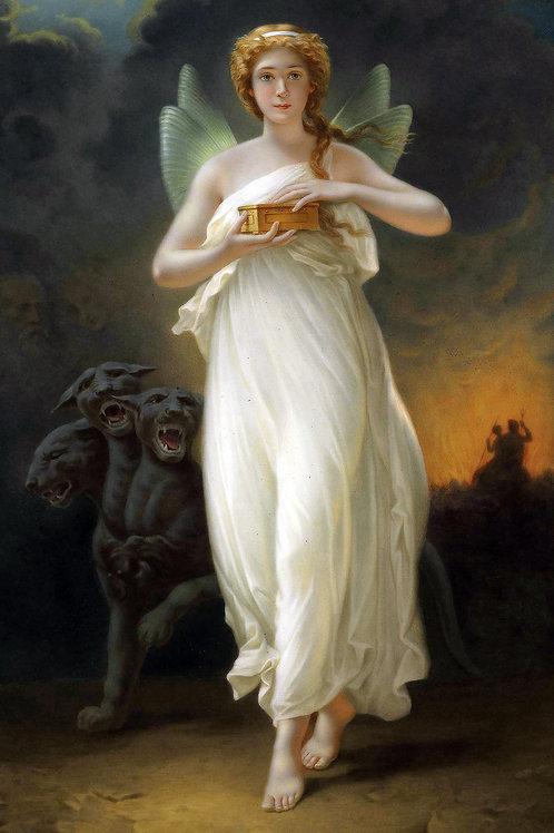 """""""Psyche"""" by Jenny Eakin Delony, 1889"""