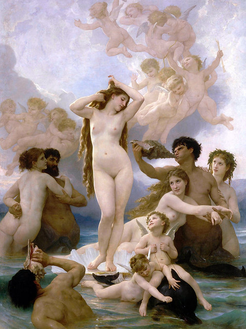 """The Birth of Venus"" by William Adolphe Bouguereau, 1879"