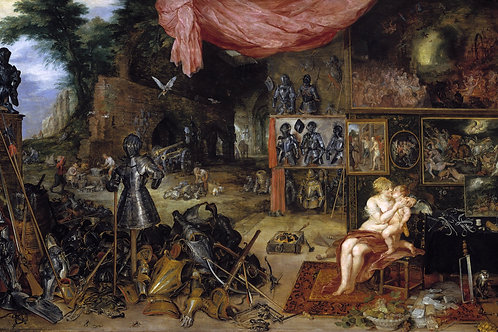 """Allegory of Touch"" by Jan Bruegel the Elder & Peter Paul Rubens, 1617"