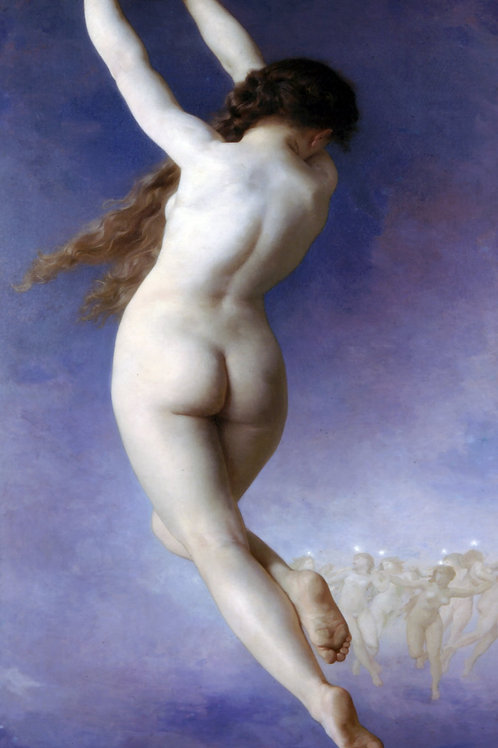 """Letoile Lost"" by William-Adolphe Bouguereau, 1884"