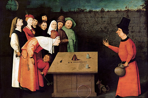 """The Conjuerer"" by Hieronymus Bosch, 1502"