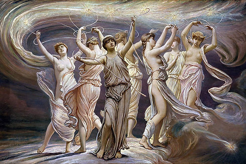 """The Pleiades"" by Elihu Vedder, 1885"