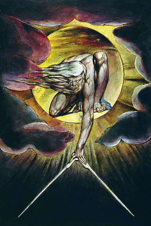 """The Ancient of Days"" by William Blake, 1794"