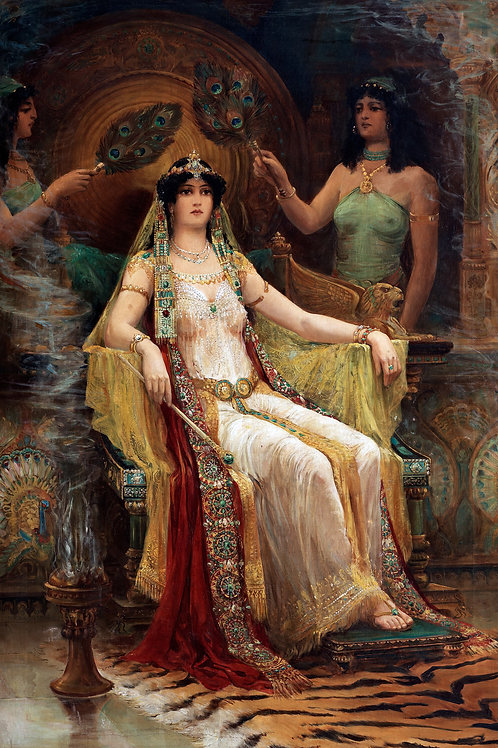 """""""Queen of Sheba"""" by Edward Slocombe, 1907"""