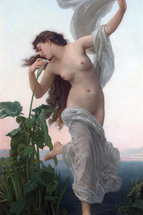 """L'Aurore"" (Dawn) by William-Adolphe Bouguereau, 1881"