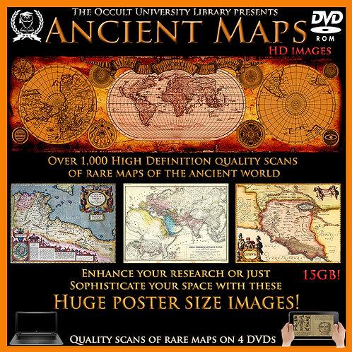 1,000+ Ancient Maps - Large HD images