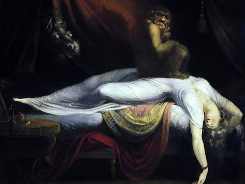 """The Nightmare"" by John Henry Fuseli, 1781"