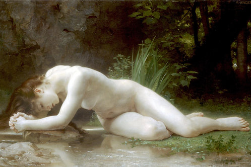 """Biblis"" by William-Adolphe Bouguereau, 1884"