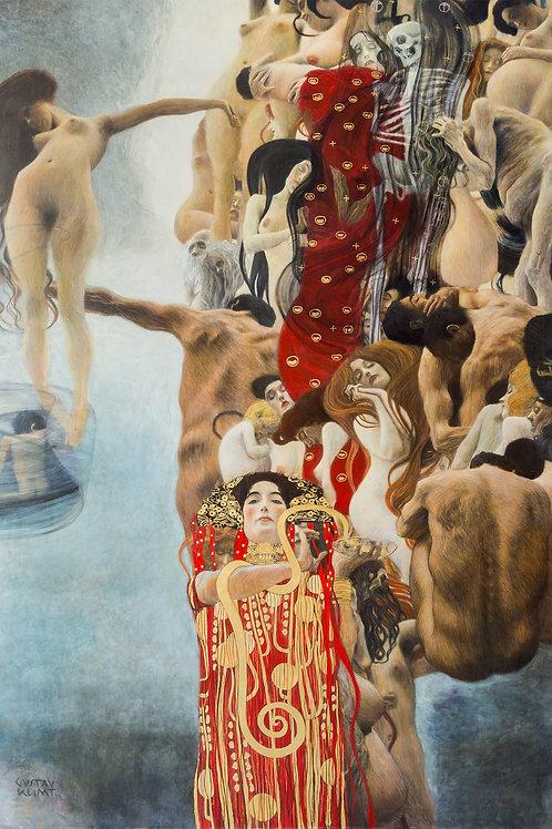 """Medicine"" by Gustav Klimt, 1901"