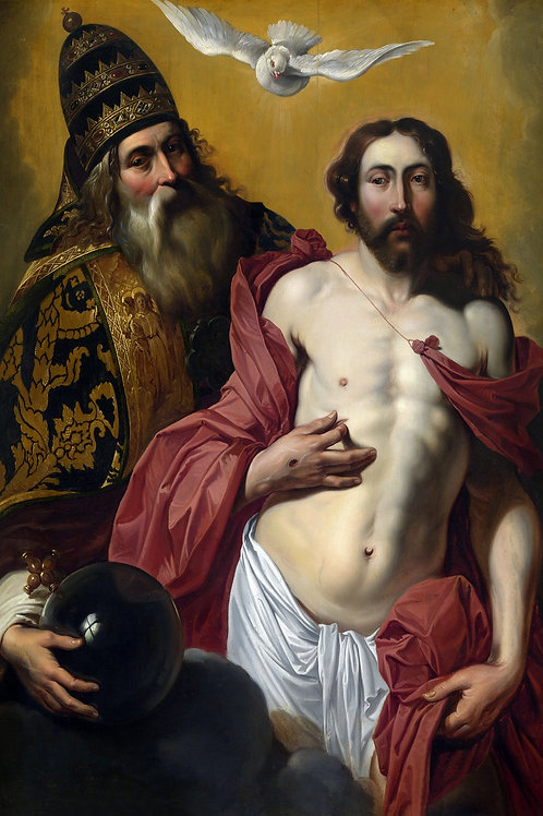 """""""The Holy Trinity"""" by Artus Wolffort, c.1625"""