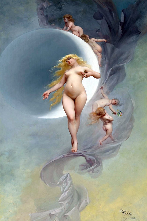 """The Planet Venus"" by Luis Ricardo Falero, 1882"