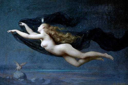 """Night"" by Auguste Raynaud, c.1887"