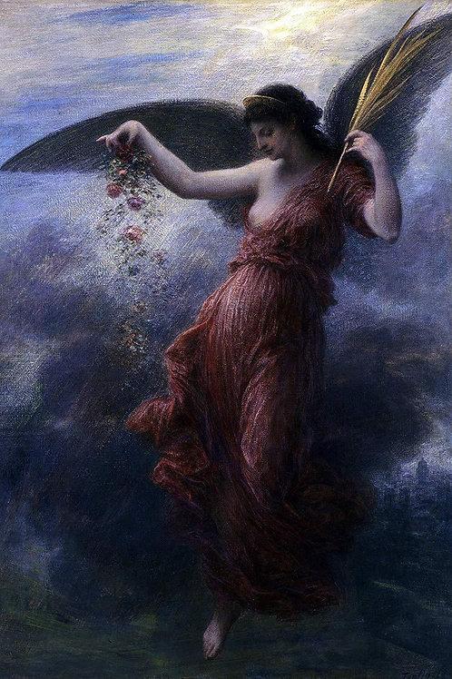 """Immortality"" by Henri Fantin-Latour, 1889"