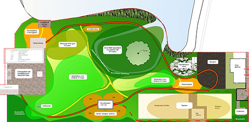 Vlekkenplan nieuwe Jeugspeelpark