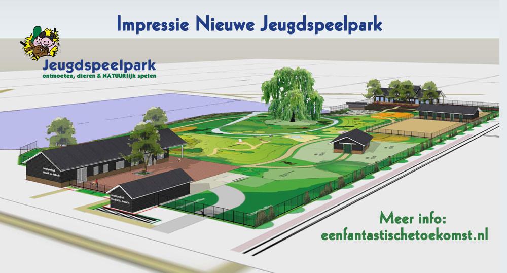 Nieuwe hoofdgebouw Jeugdspeelpark