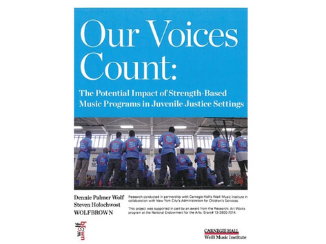 Our Voices Count: The Potential Impact of Strength-Based Music Programs in Juvenile Justice Settings