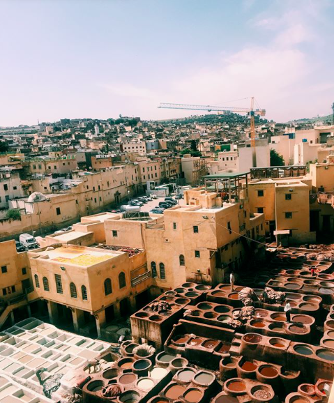 """""""Three weeks ago I had the opportunity to go to Morocco with ISA! We go to eat traditional Moroccan food, explore the Medina, and even go to an Arab bath."""" Photo by Hailey Thomas, who studied in Spain this summer with ISA."""