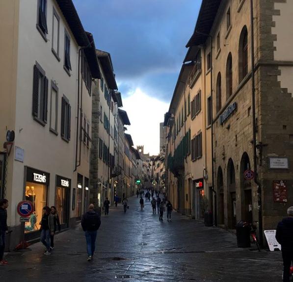 """""""I sogni si avverano [Dreams come true]."""" Photo and caption by OU in Arezzo student Deborah Solomon."""