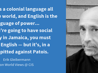 Social Justice Education and the Cultural Meaning of Language with Erik Gleibermann