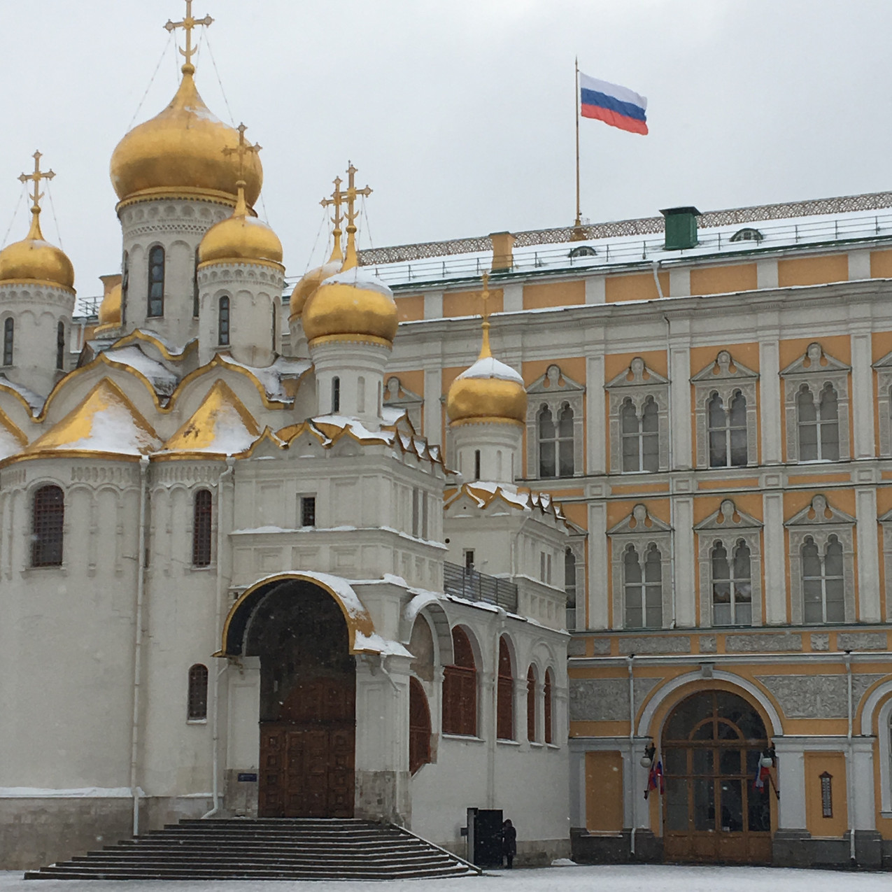 Cathedral of the Annunciation, inside the Kremlin, Moscow