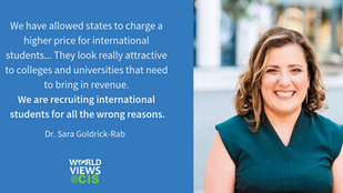 The Internationalization of Higher Education: A Conversation with Dr. Sara Goldrick-Rab