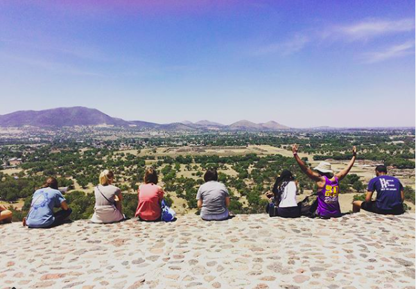 """""""OU Engineering has taken over Mexico! You have to see the world before you can change it!"""" Photo and caption by the OU Diversity and Inclusion program (MEP), which brought a group of students to OU in Puebla."""