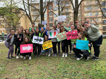 Through Service & Recreation, OU in Arezzo Students Connect with Locals