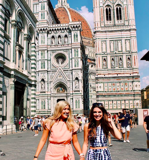 """""""Makin' new Firenze abroad."""" Photo and caption by OU Journey to Italy student Caroline Medlin."""