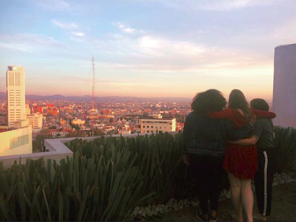 """""""Dreaming of blue skies and Puebla sunsets."""" Photo and caption by OU in Puebla."""