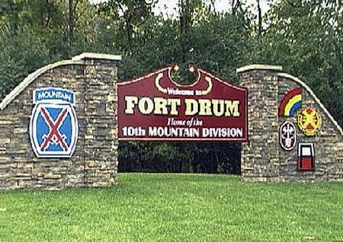 Fort Drum , NY