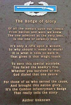 Badge Of Glory