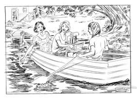 Humira Lake House Pencil
