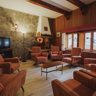Hotel Tirolo saletta del camino