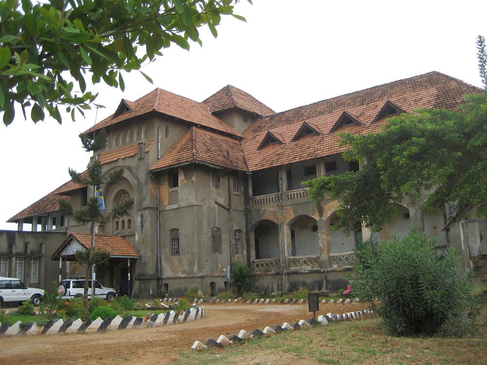 The German Hospital at Tanga today.