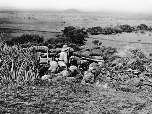 THE BRAVERY OF MEN OF 3 (KENYA) KING'S AFRICA RIFLES ON LONGIDO MOUNTAIN